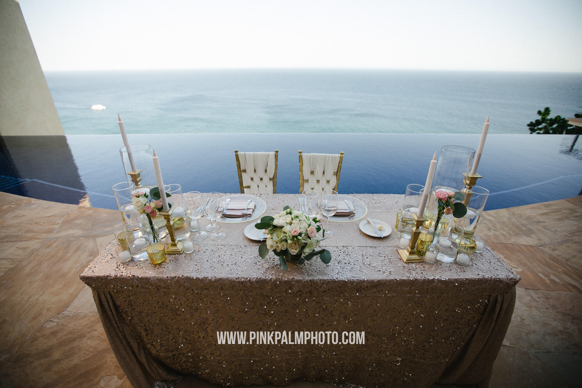 WEDDING AND RECEPTION DÉCOR IN LOS CABOS