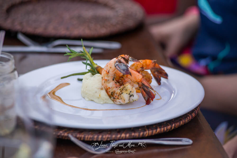 Food presentation cabo linens things and more