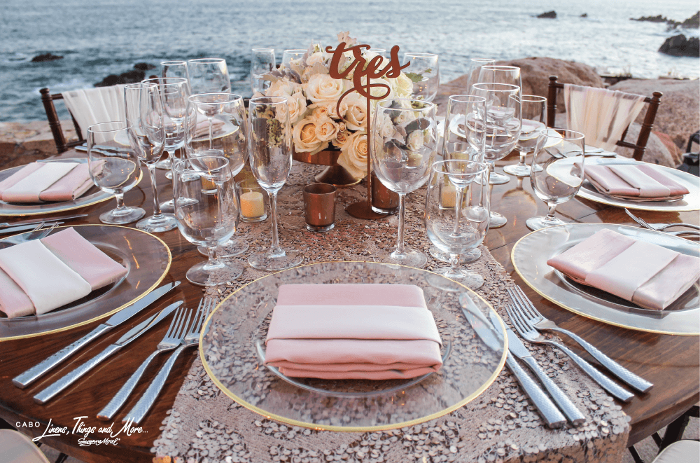destination wedding decorations napkin ideas for your destination wedding in cabo cabo 3498