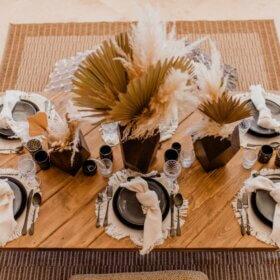 Boho Dinner Party - Villa Morel