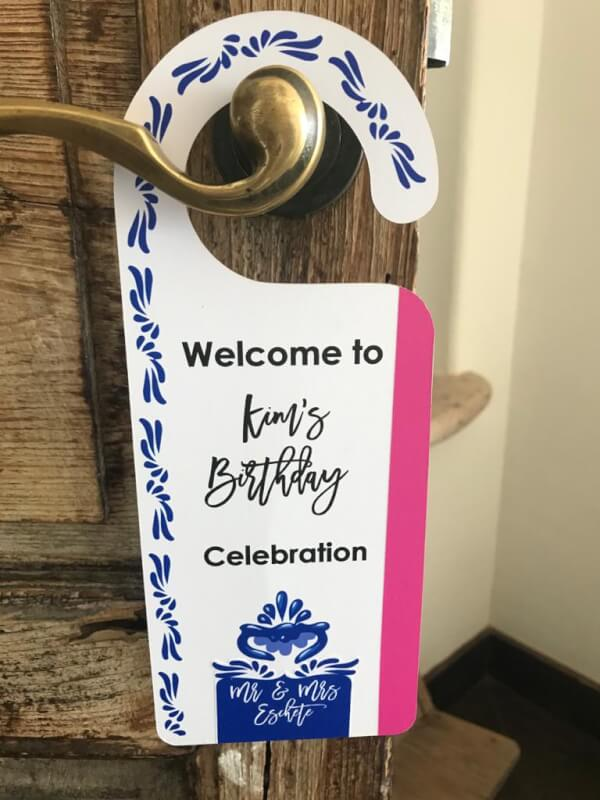 Hallmark your Events Labeling with Style