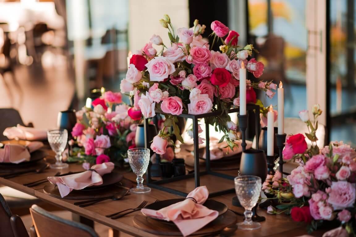 Flowers make your event a next-level success