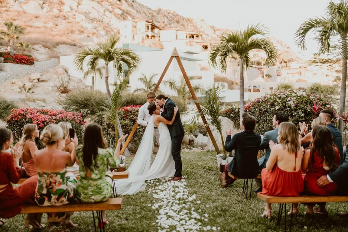 Celebrating in the Outdoors in Cabo